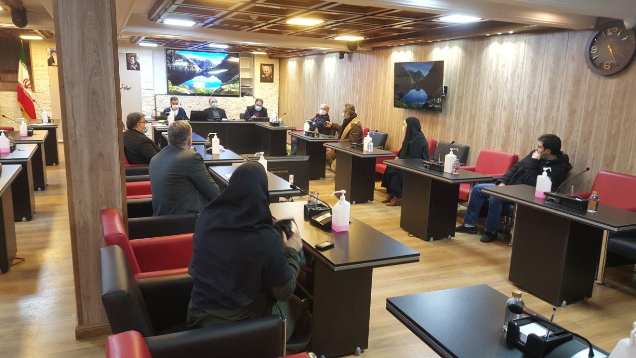 دیدار جمعی از مدیران پایگاههای خبری با دکتر حجتی2
