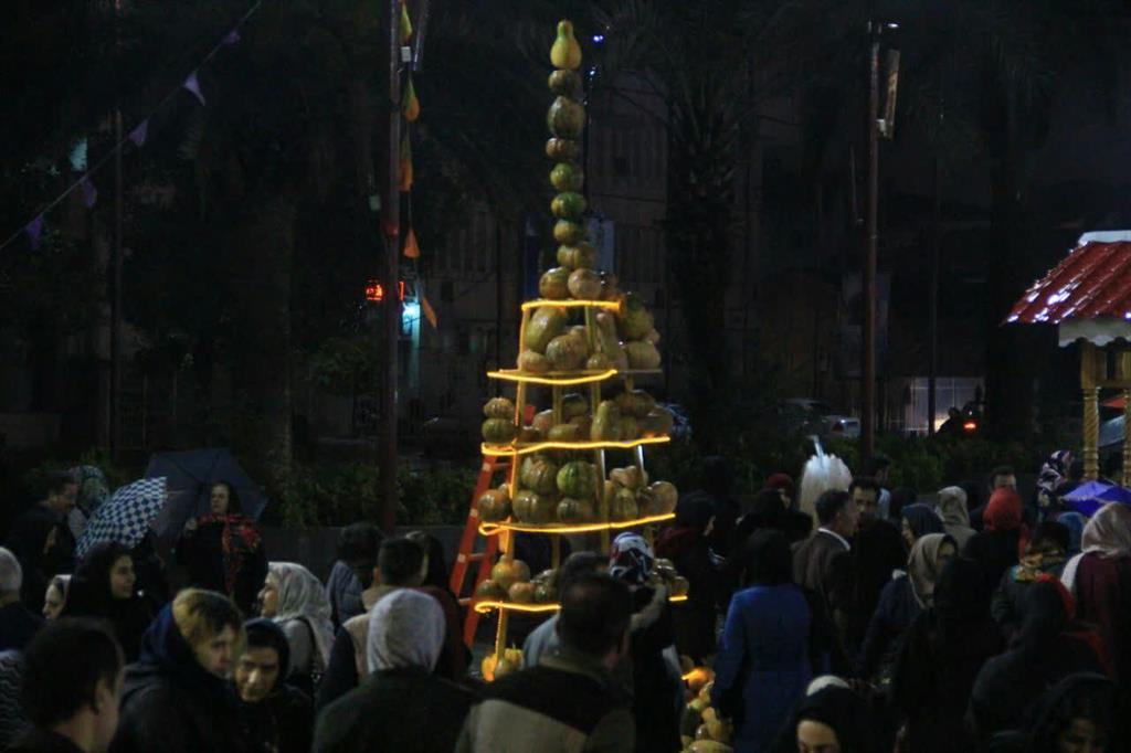 جشنواره کدو در پیاده راه فرهنگی شهرداری رشت1
