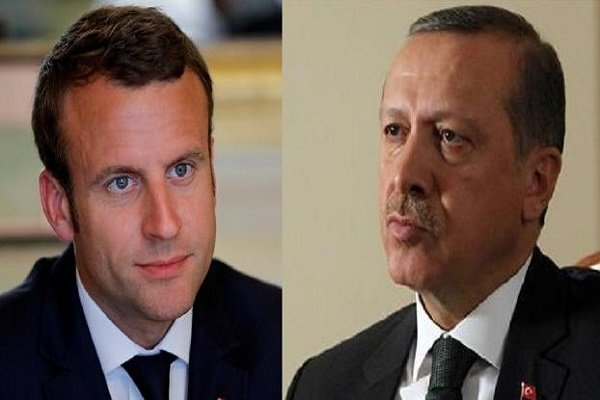 اظهرات اردوغان در مورد میزبانی تروریست ها توسط فرانسه