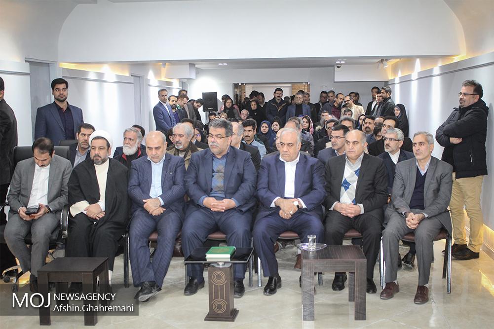 افتتاح نگارخانه شهر کرمانشاه