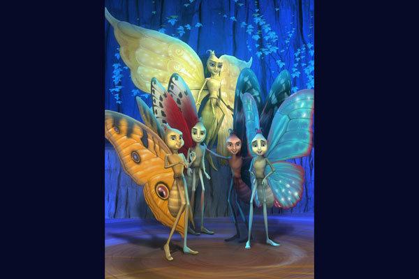 انیمیشن سینمایی راز پروانه ها