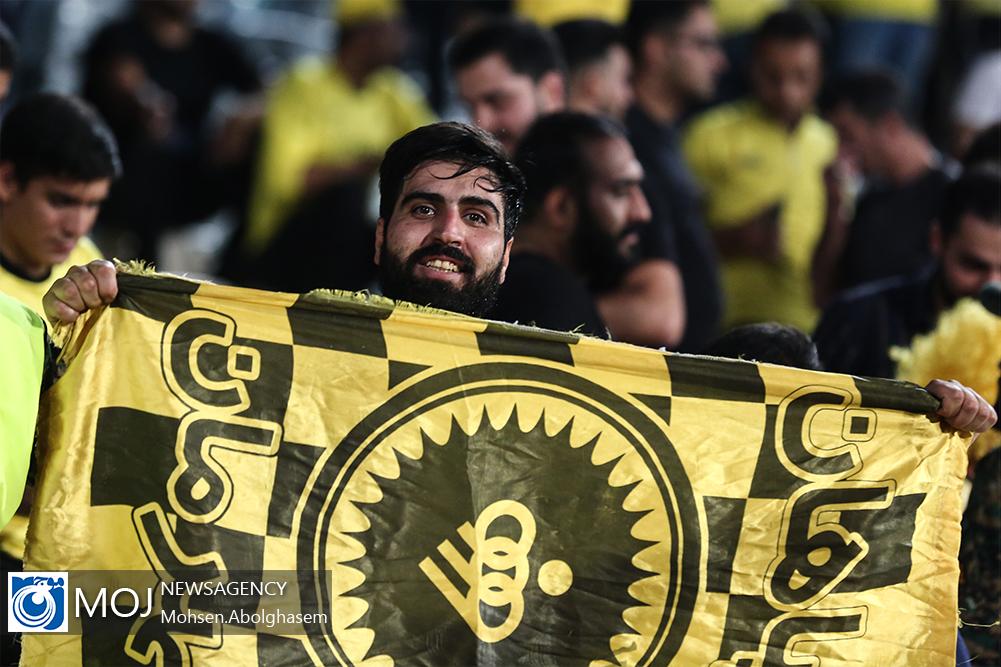 دیدار تیم های فوتبال پرسپولیس و سپاهان اصفهان - ۴ مهر ۱۳۹۸