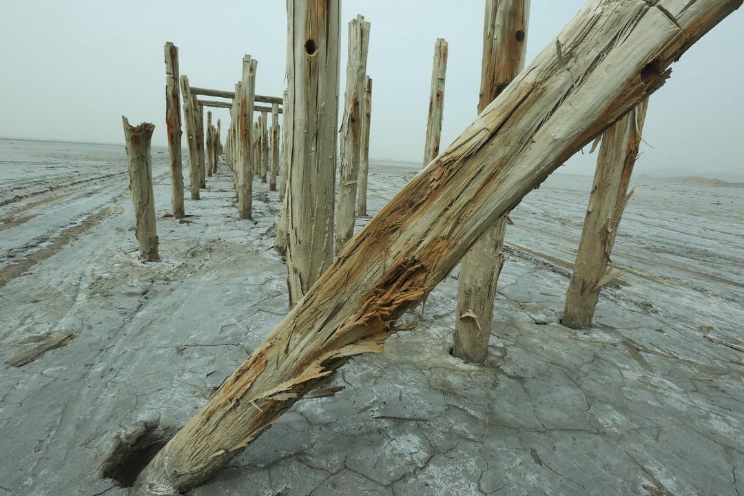 پایه پلی که قاب شد