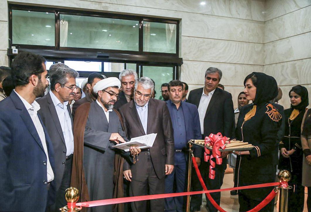 استاندار فارس در مراسم افتتاح هتل بین الحرمین شیراز