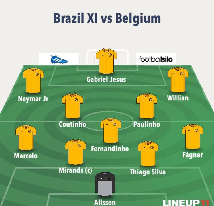 ترکیب تیم برزیل