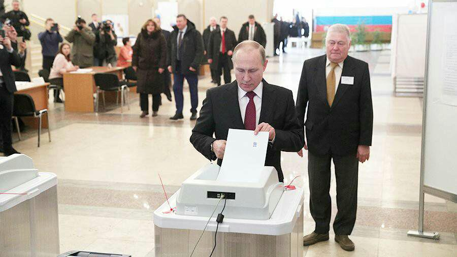 پوتین رای