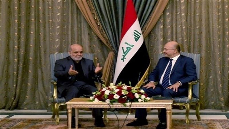 دیدار ایرج مسجدی با برهم صالح