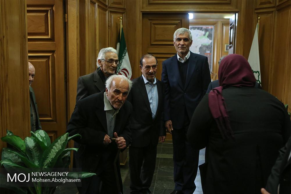 نشست مشترک شهرداران تهران در دوره انقلاب شکوهمند