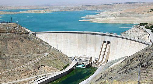کاهش حجم اب سد زاینده رود
