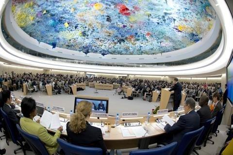 شورای حقوق بشر سازمان ملل.