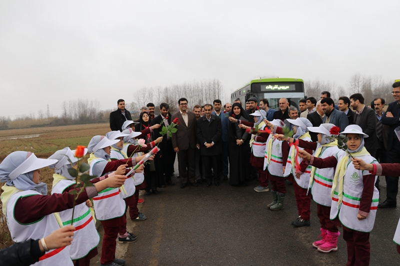 افتتاح طرح های عمرانی سنگر1