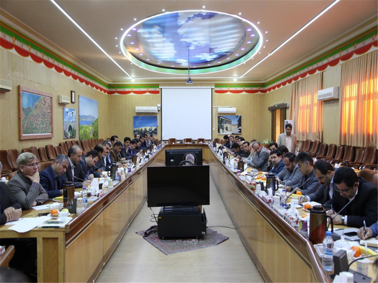 نشست فرمانداران کردستان