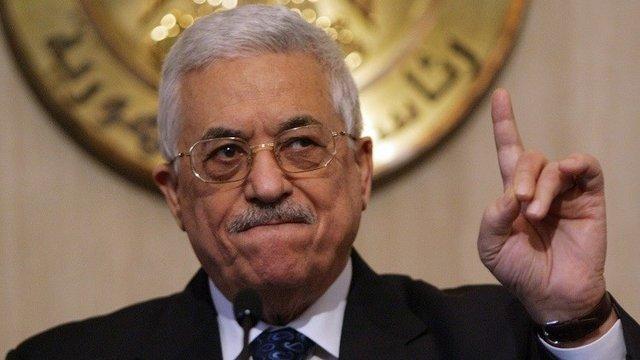 محمود عباس رئیس تشکیلات خود گردان فلسطین