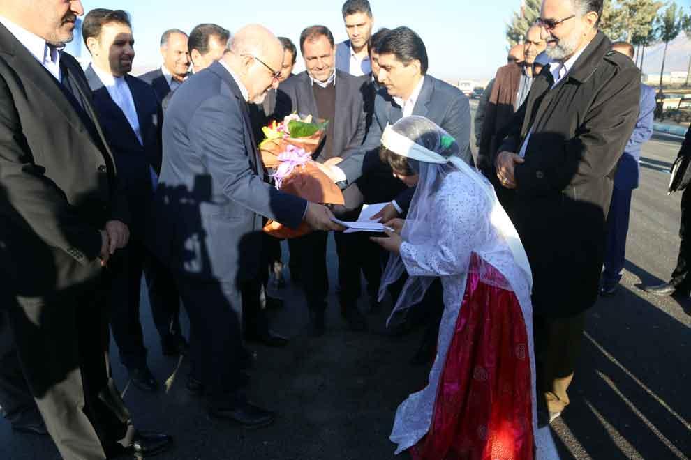 سفر وزیر نفت به یاسوج (1)