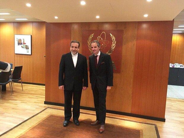 دیدار عراقچی با مدیرکل جدید آژانس انرژی اتمی