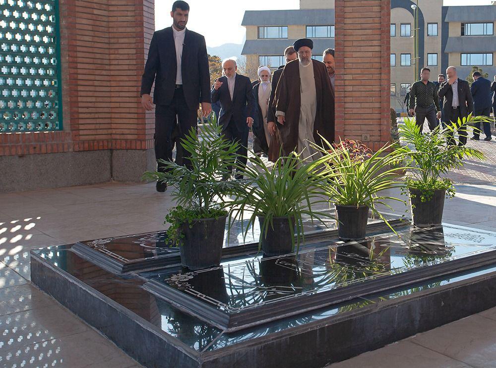 بازدید رئیس قوه قضاییه از سایت هستهای UCF اصفهان2