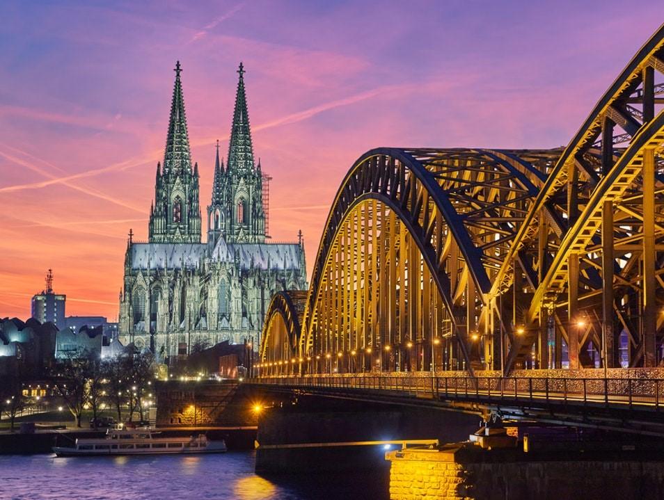 کلیسای جامع کلن در کلن، آلمان