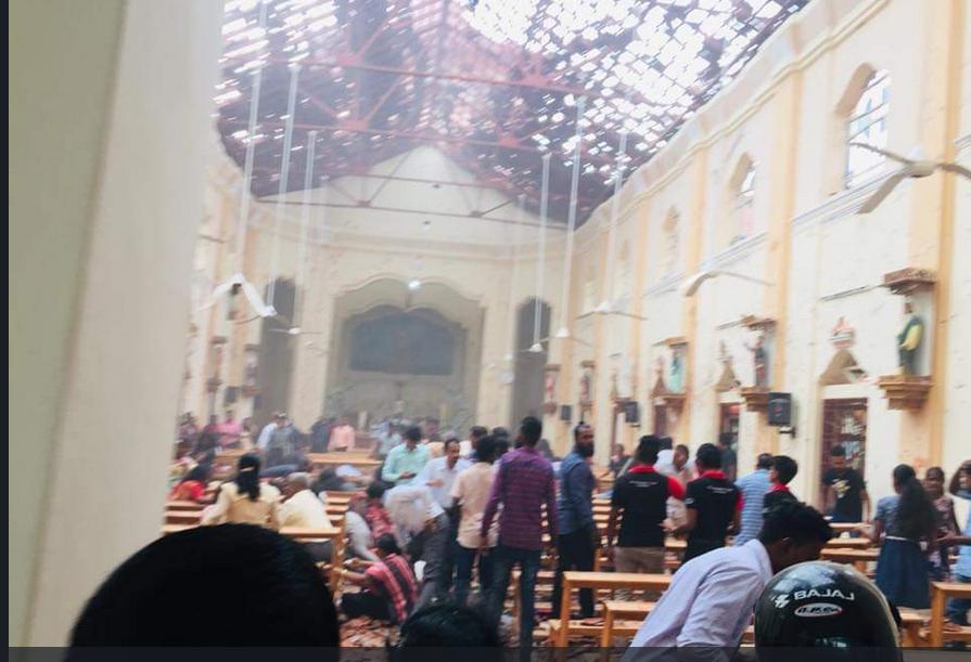 انفجار در سریلانکا