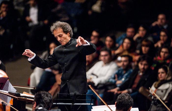 شهرداد روحانی ارکستر سمفونیک کودکان
