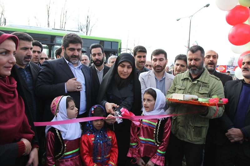 افتتاح طرح های عمرانی کوچصفهان