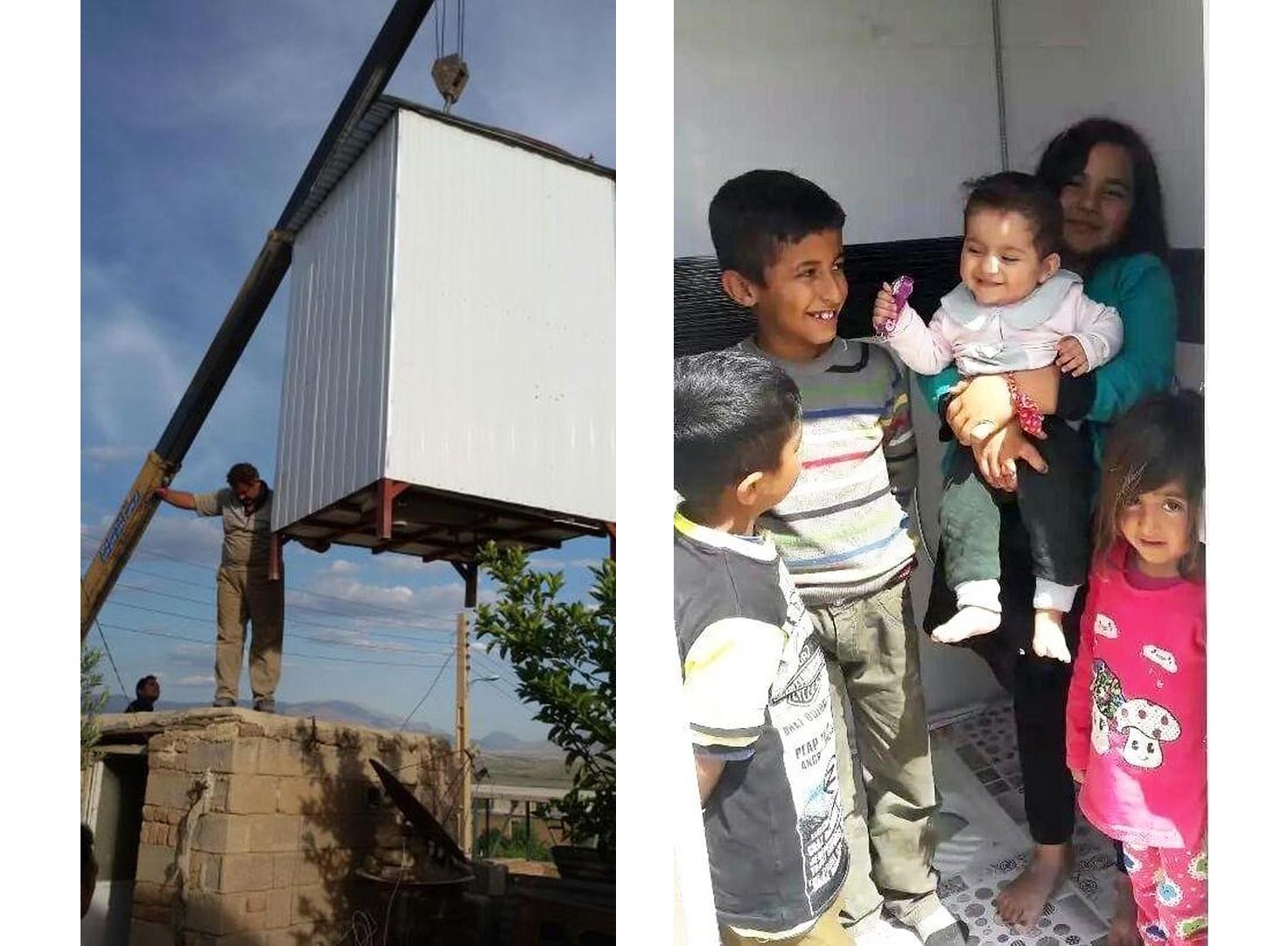 ری را عباسی و کمک به آسیب دیدگان زلزله
