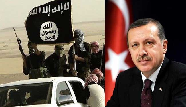 حمایت اردوغان از داعش