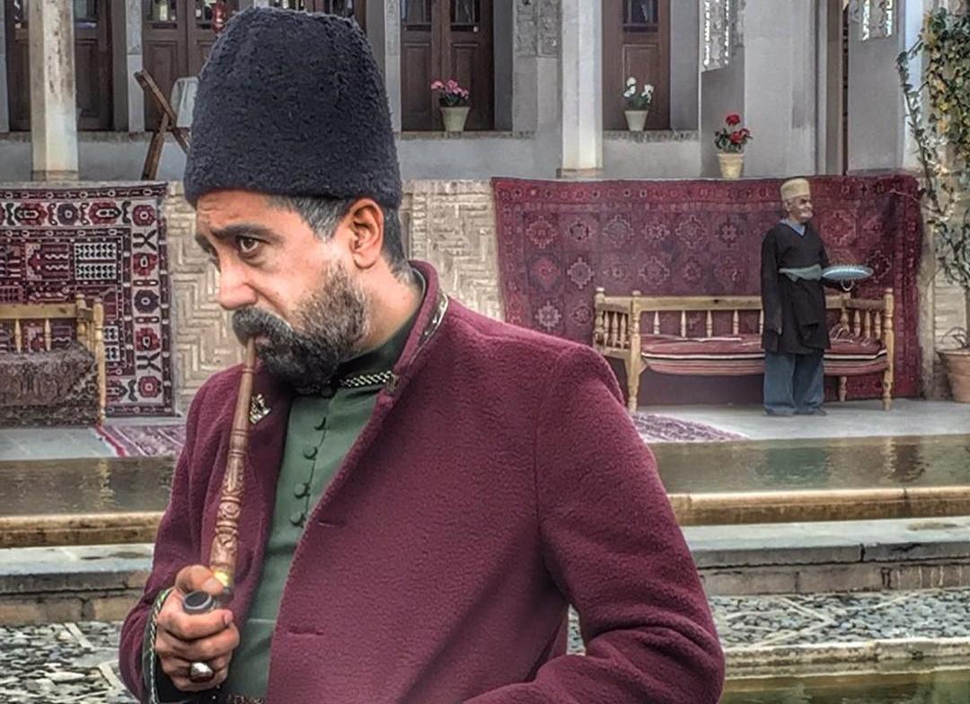 رامتین خداپناهی بازیگرنقش میرزا اسد سریال بانوی عمارت