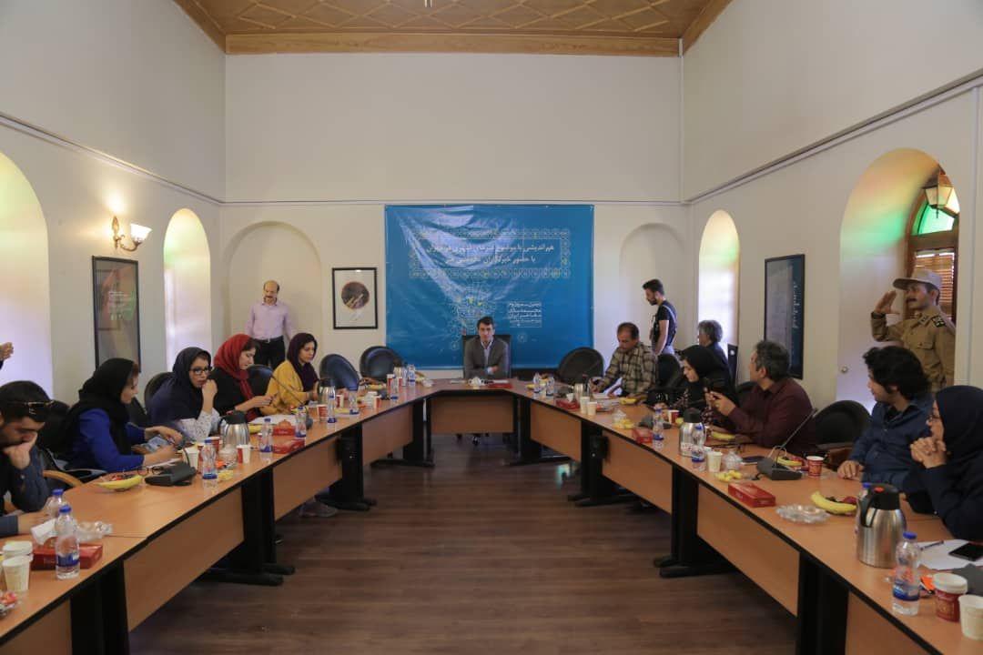 جلسه هم اندیشی با موضوع هنرهای شهری در تهران با حضور سید مجتبی موسوی
