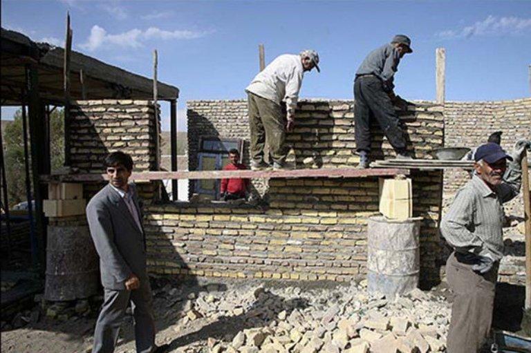 بازسازی واحدهای زلزلهزده روانسر