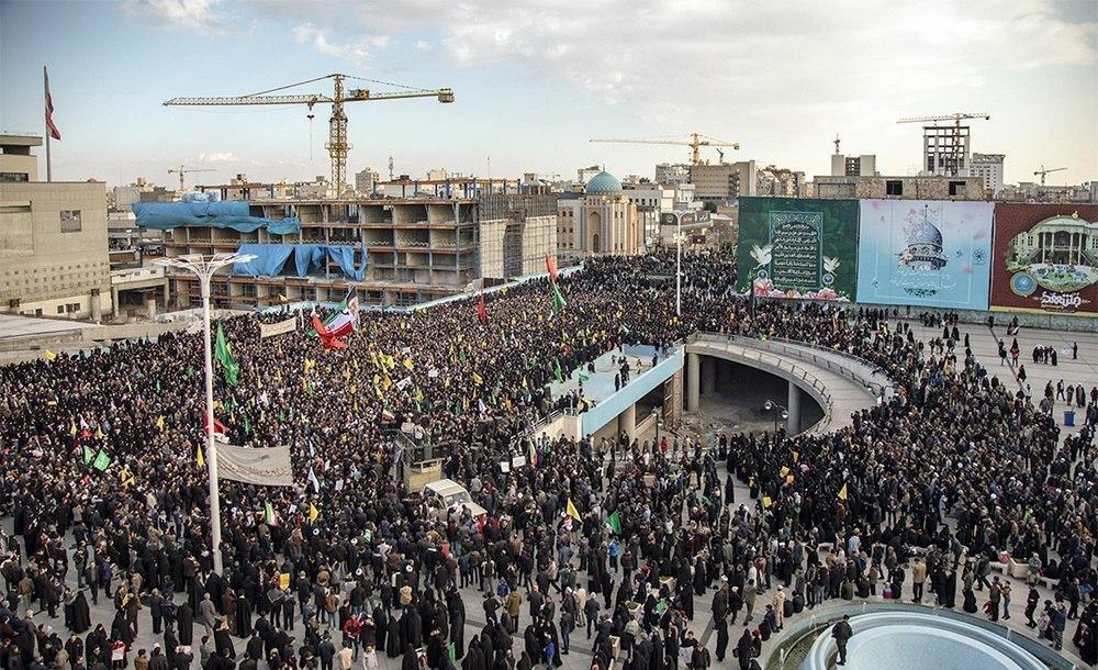 تشییع سردار سلیمانی در مشهد