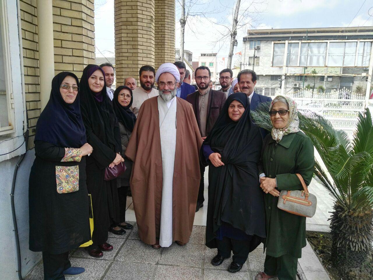 فلاحتی در جمع خبرنگاران