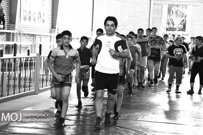 اردوی تیم ملی کشتی آزاد اردبیل 12