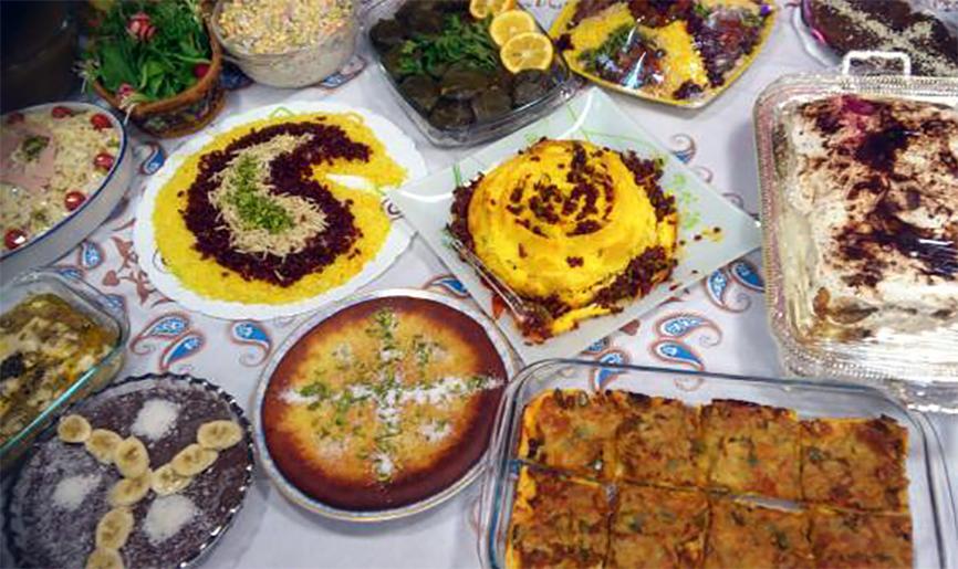 جشنواره خیریه غذا مدرسه مهربانی
