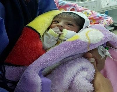 اولین نوزاد گیلان