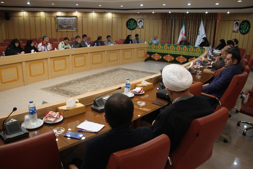 جلسه کارگروه اجتماعی و+ فرهنگی استان