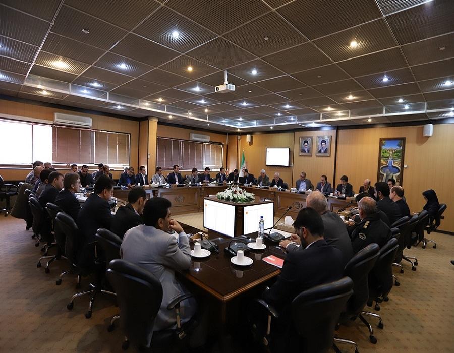 مهندس یداله رحمانی سرپرست استانداری فارس در جلسه ستاد بازآفرینی محدوده ها و محلات استان