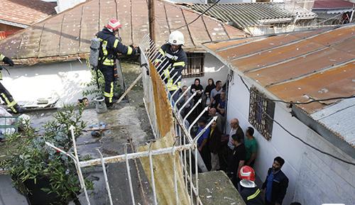 آتش سوزی خانه ویلایی در رشت