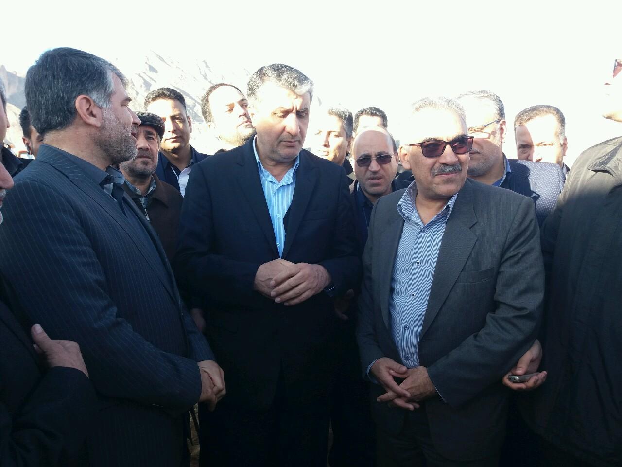 وزیر راه و. شهرسازی در کاشان