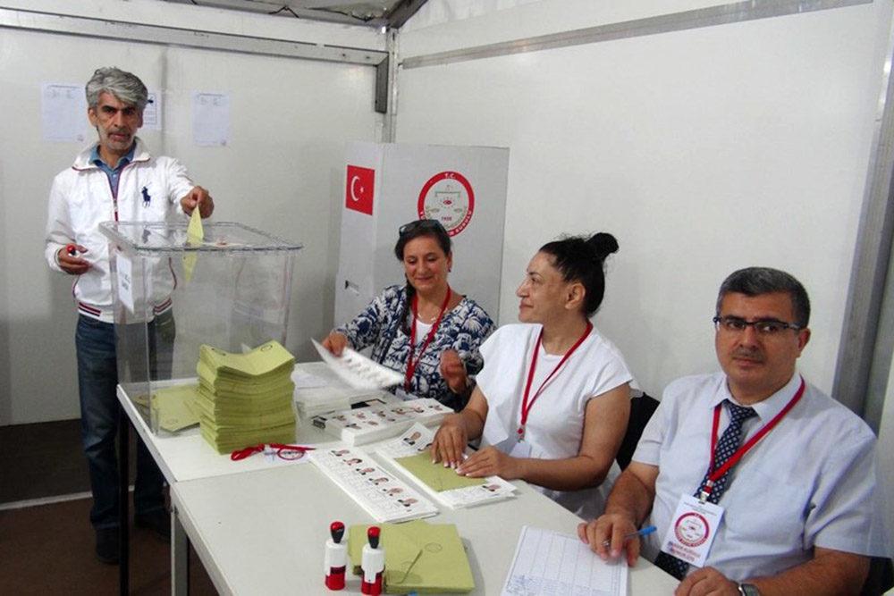 انتخابات ریاست جمهوری ترکیه.