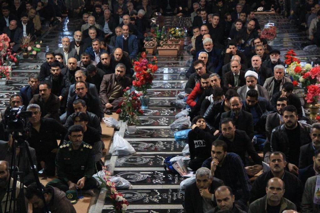 اولین سالگرد شهید مدافع حرم بابک نوری هریس