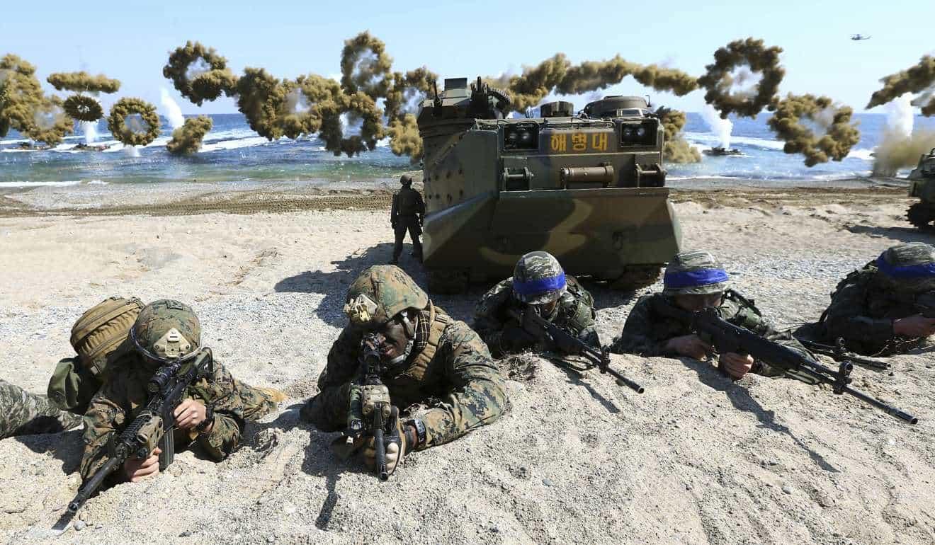مانور نظامی مشترک آمریکا و کره جنوبی