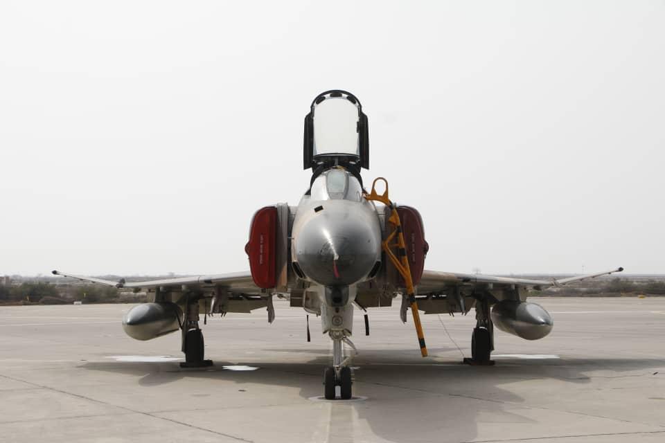 تمرین مشترک هوایی