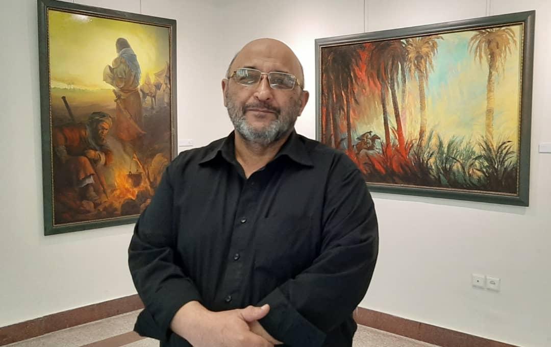 عبدالحمید قدیریان در نمایشگاه همپای نور