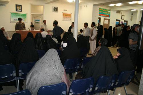 درمانگاه مملو از جمعیت