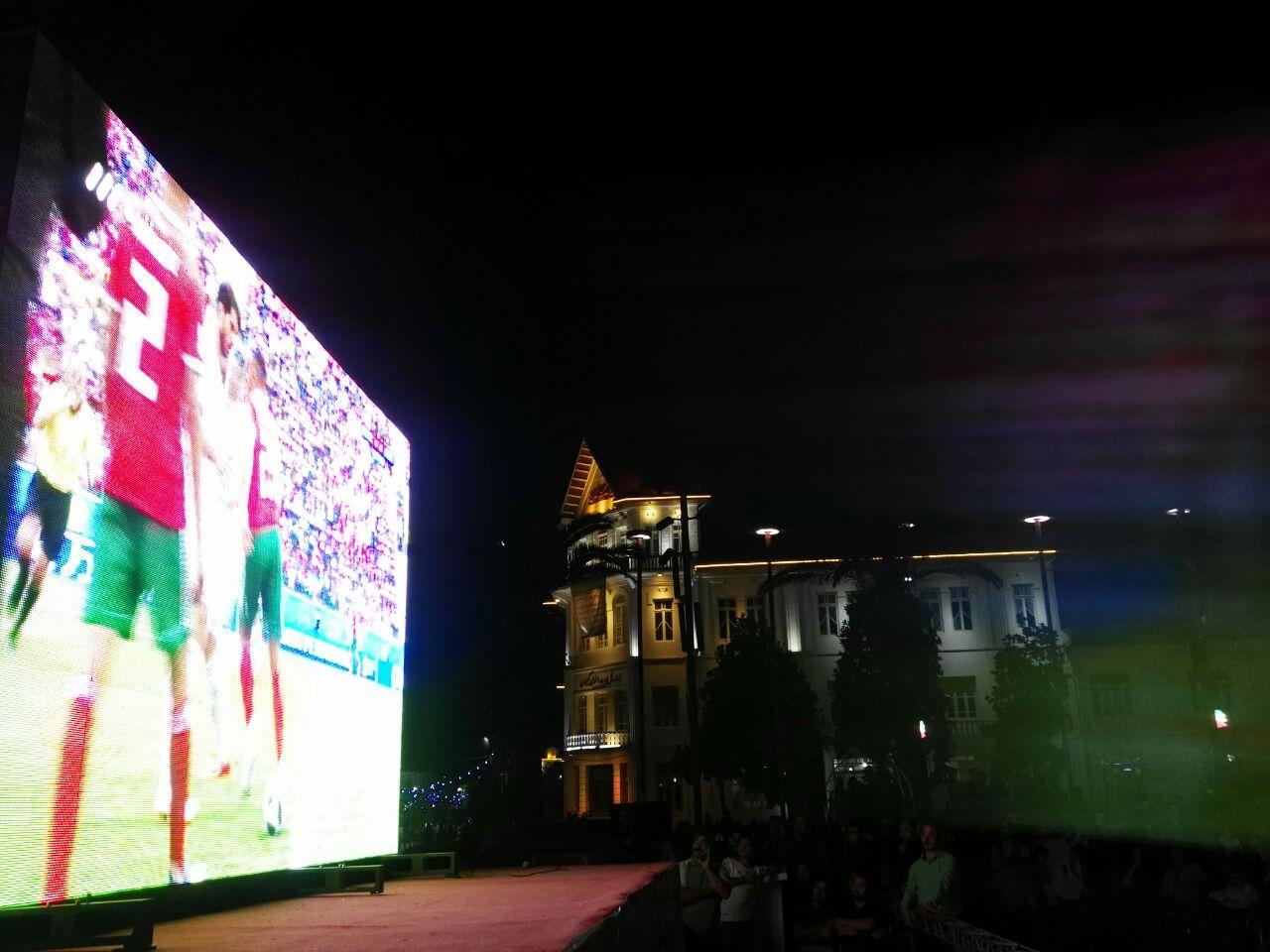 پخش بازی -ایران و مراکش