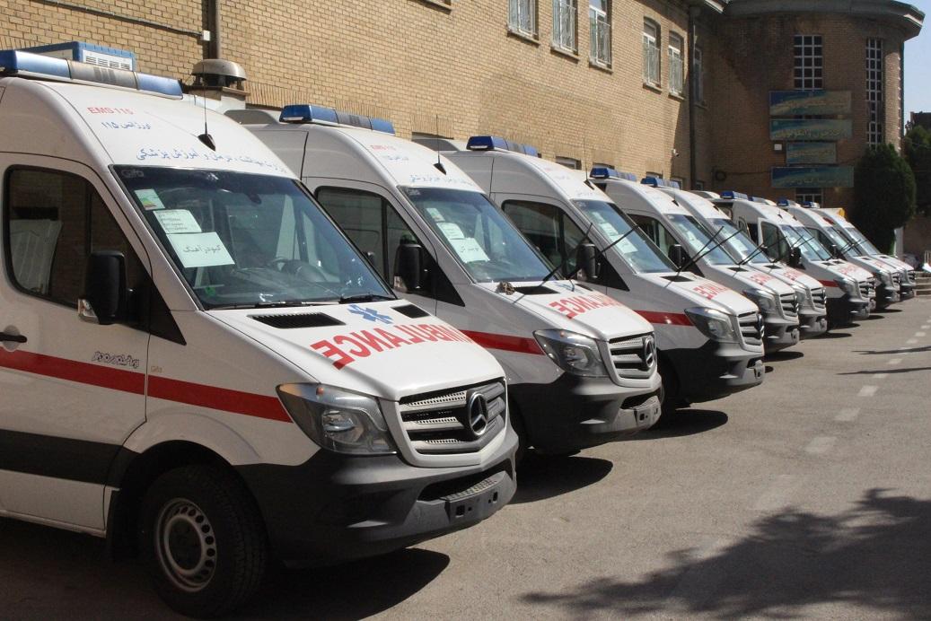 آمبولانس همدان