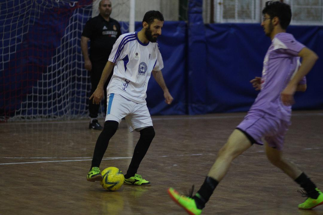 مسابقات فوتسال جام رسانه-قم