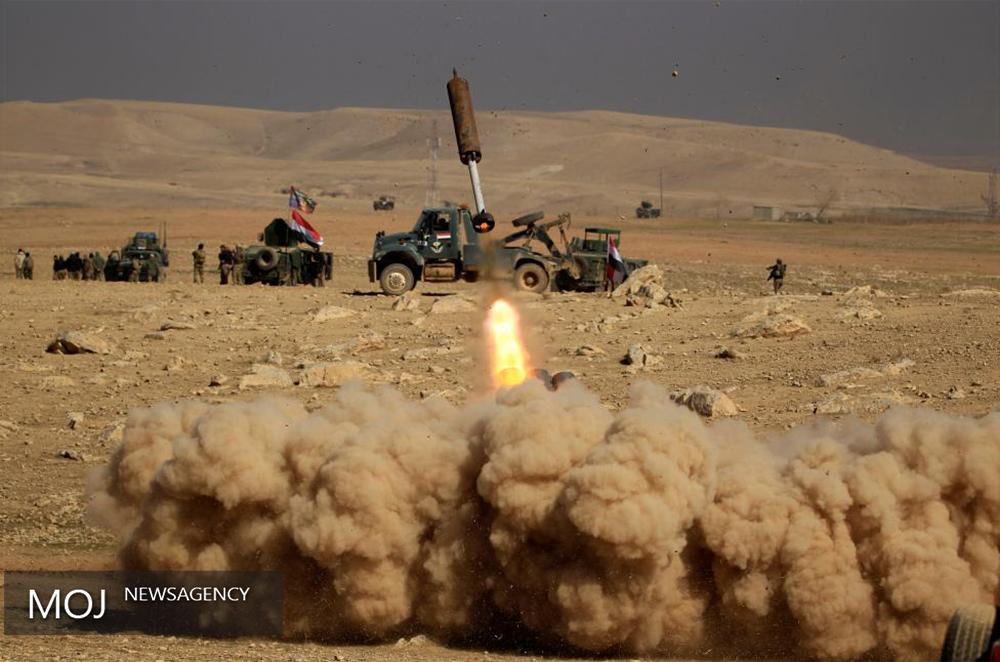 تخریب پناهگاههای داعش