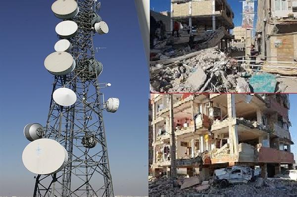 بخشودگی یک دوره کارکرد تلفنهای مشترکین خانگی مناطق زلزلهزده