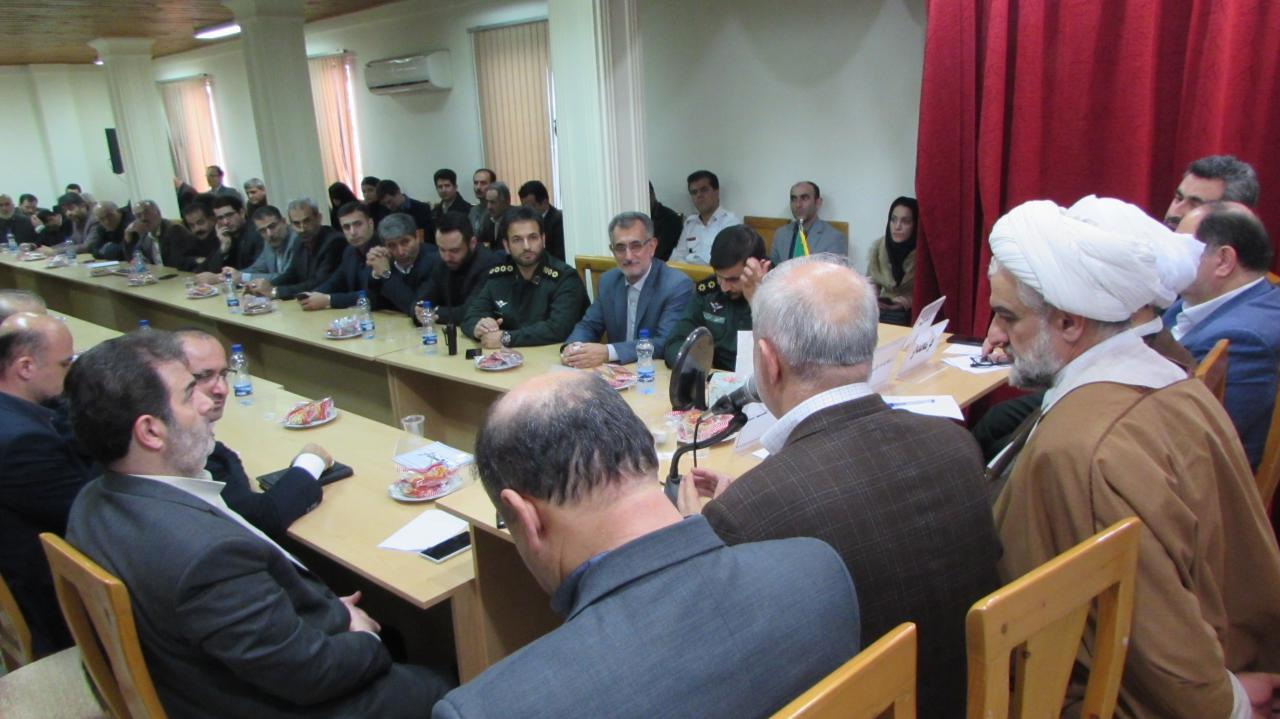 جلسه شورای اداری لشت نشا1